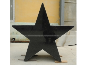 Granite Star Sculpture Abstract Sculpture, Granite Outdoor Sculpture, Granite decorative Sculpture